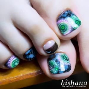 フット・花火2018ブラック