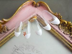 フレンチ2白小花
