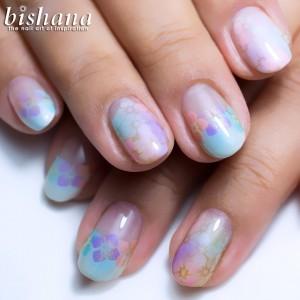 手毬・紫陽花