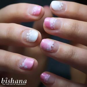 桜☆メッシュフレンチ