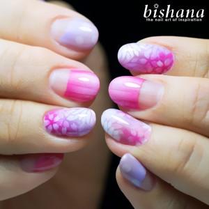桜ドットストライプ2