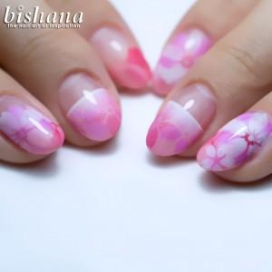 桜ピンク3種盛り1