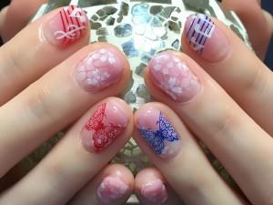 桜・蝶・音符