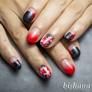 ゴシック☆金魚桜1