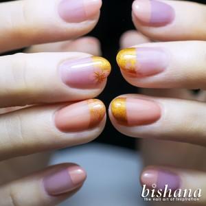 桜☆レース・ピンクベージュコッパー