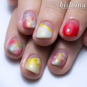 桜ゴールド+レッド