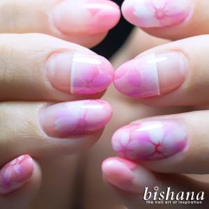 桜ピンク3種盛り2