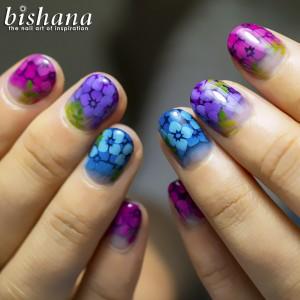 絵本の紫陽花1
